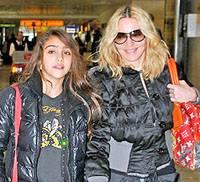 Мадонна со своей дочерью Лурдес