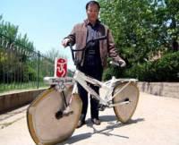 Треугольные колёса помогают сбросить вес