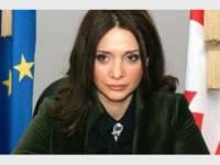 Министр исполнения наказаний, пробации и юридической помощи Хатуна Калмахелидзе.
