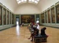 Лувр.  Третьяковская галерея.