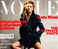 Кейт Мосс на обложке Vogue, Великобритания, сентябрь-2010