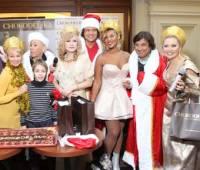 Вчера в Москве детям раздавали шоколад