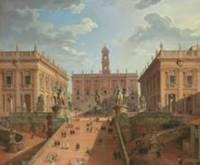Джованни Паоло Панини «Капитолий, Рим», 1750 год