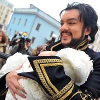 Ф.Киркоров с дочкой