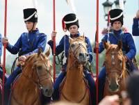 На Поклонной горе в Москве стартовал конный поход «Москва-Париж»
