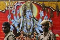 В Индии отец принес в жертву богине своего сына
