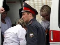 В подмосковном отделе полиции свидетель выпал из окна 5 этажа