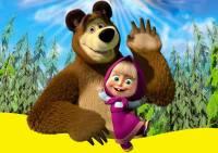 Российский мультфильм «Маша и Медведь» стал популярен в Италии