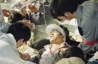 В Китае упал подъемный кран, есть жертвы