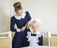 Солистка театра Оперетты актриса Юлия Гончарова отправит дочку в школу в свой день рождения