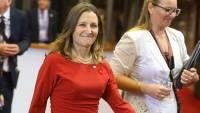 Главу МИД Канады внесли в санкционные списки РФ