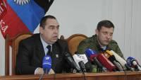 Лидеры ДНР и ЛНР нанесли визит в Крым