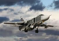 В Сирии во время взлета разбился российский Су-24, экипаж погиб