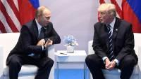 Путин провел телефонную беседу с Трампом