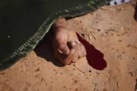 В Москве найдено изрубленное тело мужчины