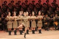 Военный ансамбль имени Александрова дал первый концерт в новом составе
