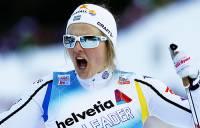 Шведская лыжница Нильссон не захотела пожать руку Матвеевой на ЧМ в Финляндии