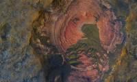 NASA показало фото коренных пород - «сердца» Марса
