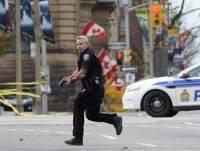 В Канаде убит россиянин, напавший на полицейского с ножом