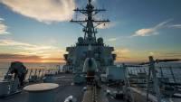 В Черное море вошло десантное судно-док Carter Hall ВМС США