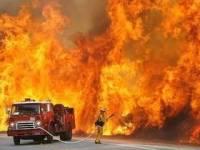Под Харьковом на одном из крупнейших складов с вооружением произошел пожар