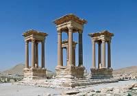 Сирийские ученые надеются восстановить древние памятники Пальмиры