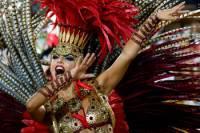 На карнавале в Рио установлен рекорд по числу участников и зрителей