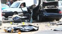 В Петербурге иномарка, выехавшая на тротуар, насмерть сбила двух мужчин