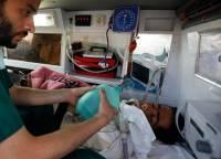 В Китае грузовик на полном ходу врезался в похоронную процессию