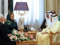 Матвиенко объяснила выбор платка и зеленого платья во время визита в Эр-Рияд