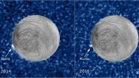 НАСА показало снимки извержения гигантских криовулканов Европы