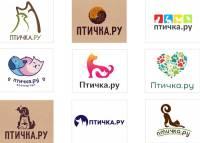 некоторые из вариантов логотипов для нового проекта Птичка.ру
