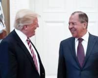 Лавров прокомментировал ситуацию вокруг своих фото с встречи с Трампом