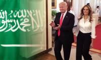 Супруга Трампа во время первого официального визита главы США вышла к саудитам с непокрытой головой