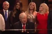 Видео: В новой пародии на Дональда и Иванку Трамп снялись Алек Болдуин и Скарлетт Йоханссон
