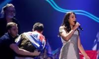 Джамала впервые высказалась по поводу скандала с пранкером во время ее выступления на Евровидении