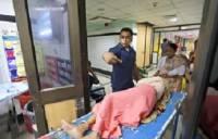 В Индии более 200 детей пострадали в результате утечки токсичного газа