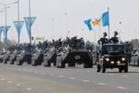 Военный парад в Астане стал крупнейшим в истории Казахстана