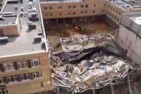 Под Петербургом рухнула часть почти построенной школы