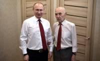 Владимир Путин побывал в гостях у своего экс-начальника
