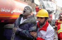 В Иране число жертв взрыва на угольной шахте увеличилось до 42