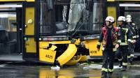 В Берлине столкнулись трамваи: ранены 27 человек