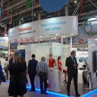 Компания Toshiba приняла участие в ИННОПРОМ 2017