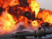 В Китае 8 человек стали жертвами взрыва на газопроводе