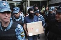 Московская полиция проводит обыск в штабе Навального