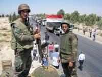 Сирийская армия отбила у боевиков город Ас-Сухне в провинции Хомс