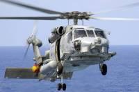 В Японии после крушения военного вертолета 3 человека пропали без вести