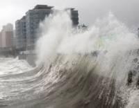 Японию накрыл пятибалльный тайфун