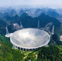 Китай построил телескоп для поиска инопланетян