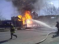 СМИ: под Винницей на горящих складах боеприпасов слышны взрывы, есть жертвы